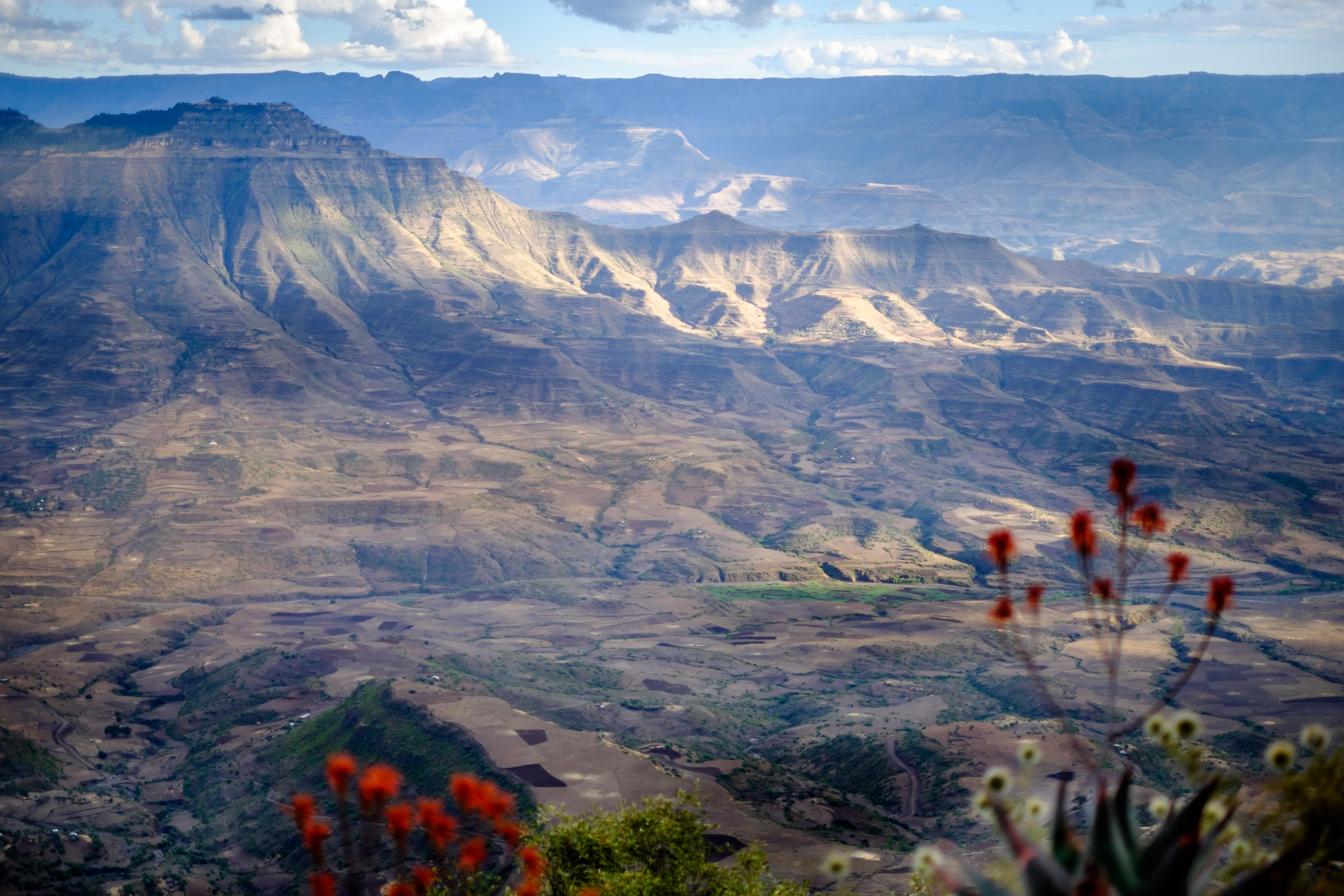 La prima vedere ai putea spune ca este Grand Canyon. Dar surpriza, este in Etiopia, nu in America