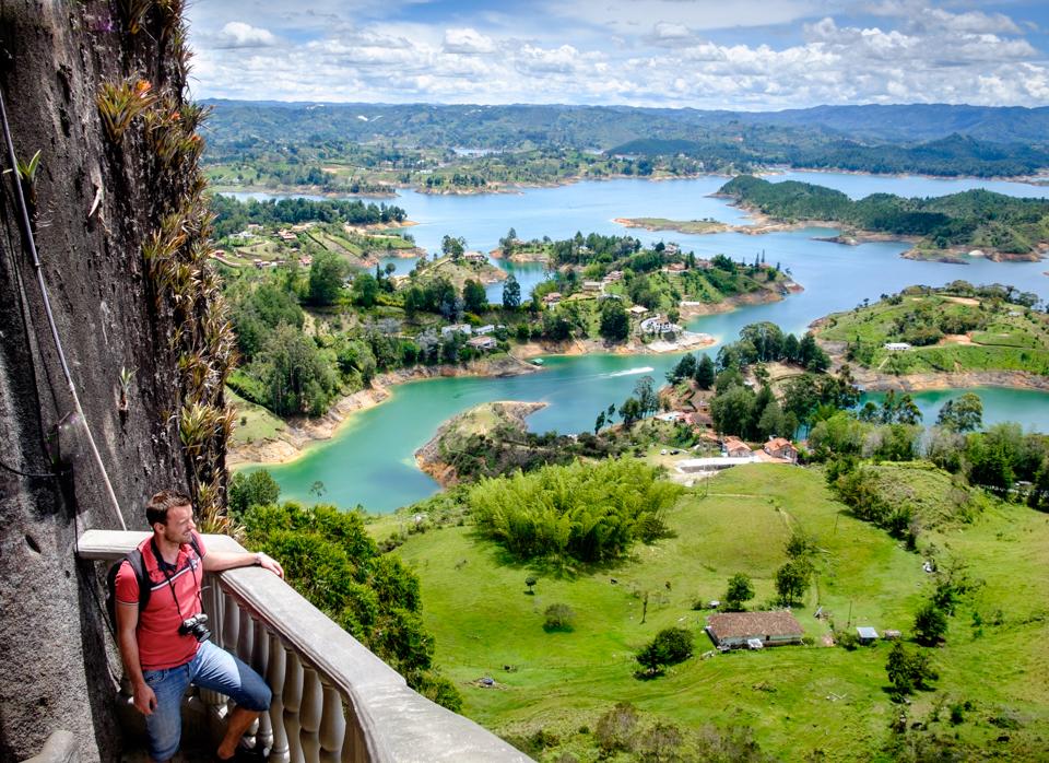 Columbia. Piedra del Penol, Guatepe