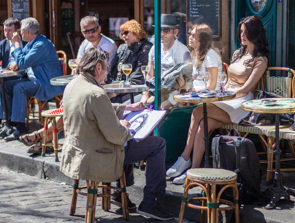 Paris. Portret in Montmartre