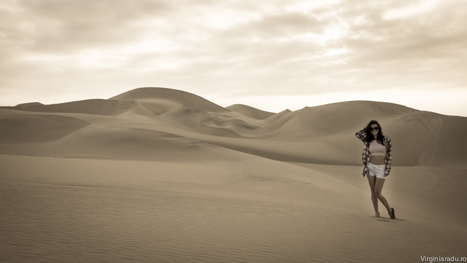 Peru. Desertul din Paracas