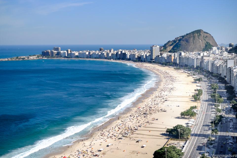 Brazilia. Copacabana, Rio de Janeiro