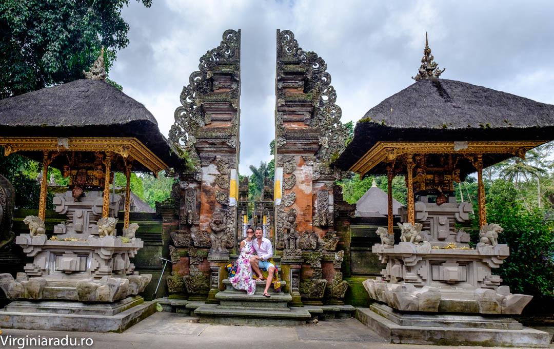 Aceleasi porti la intrare in templu